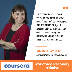 Coursera Workforce Recovery Initiative
