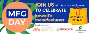 Hawaii Manufacturing Day 2020 Banner