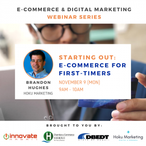 E-Commerce for First-Timers Banner