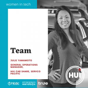 Julie Yamamoto of Hui Car Share