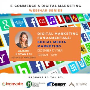 Social media marketing webinar by AStrategy Marketing