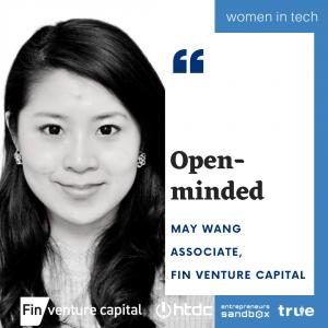 Hawaii Women in Tech series featuring May Wang, Associate at Fin Venture Capital