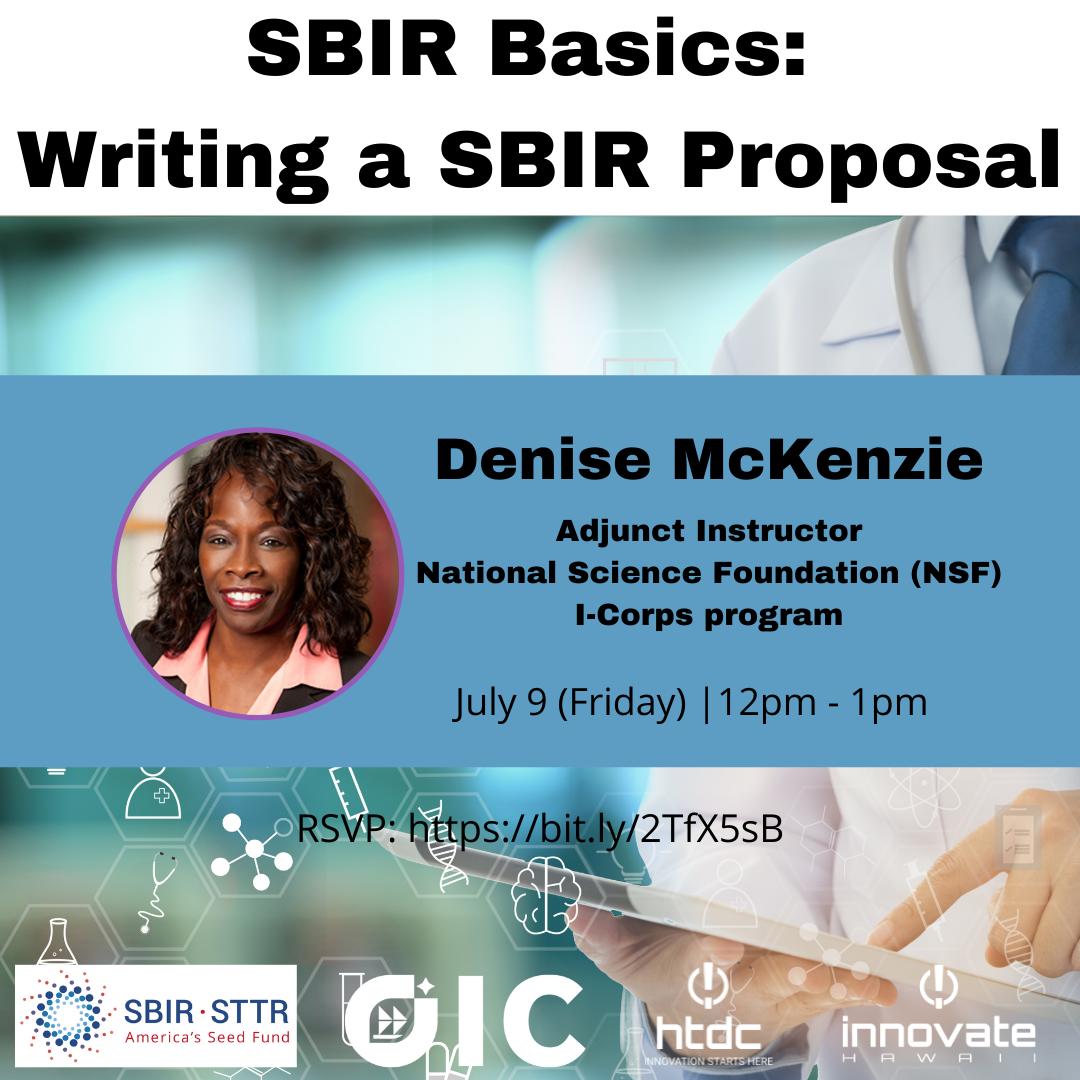 SBIR Basics Writing a Proposal