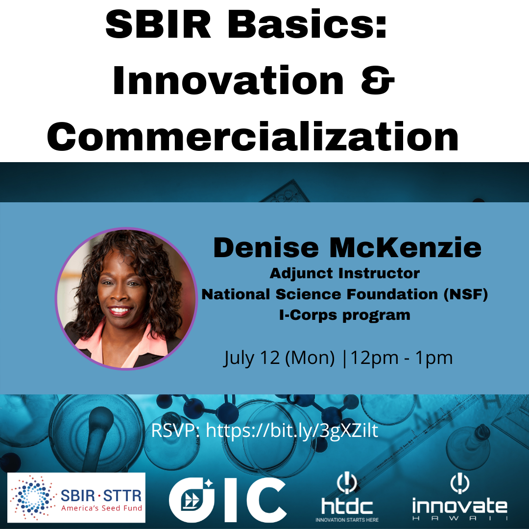 SBIR Basics Innovation and Commercialization
