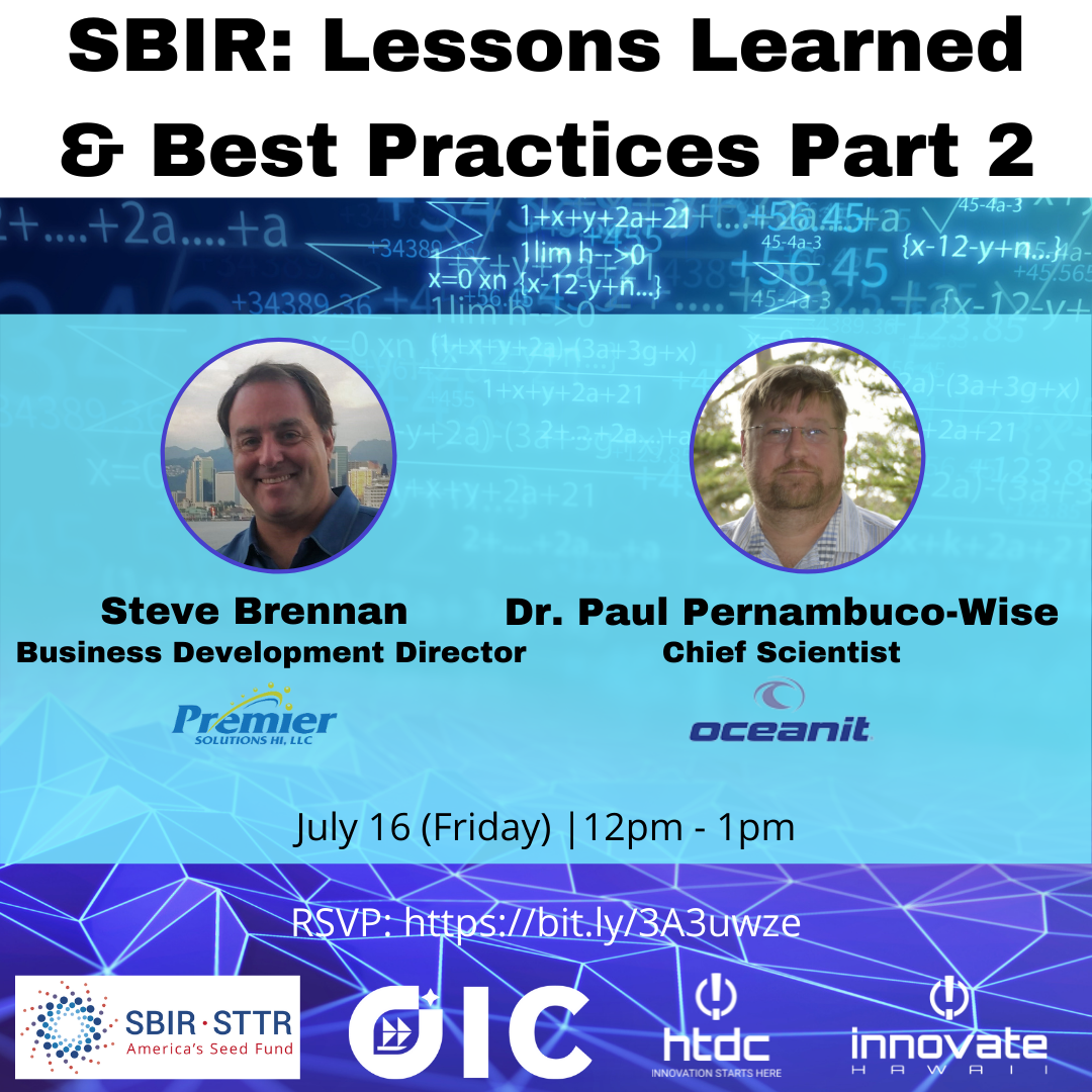 SBIR Basics Lessons Learned and Best Practices Part 2