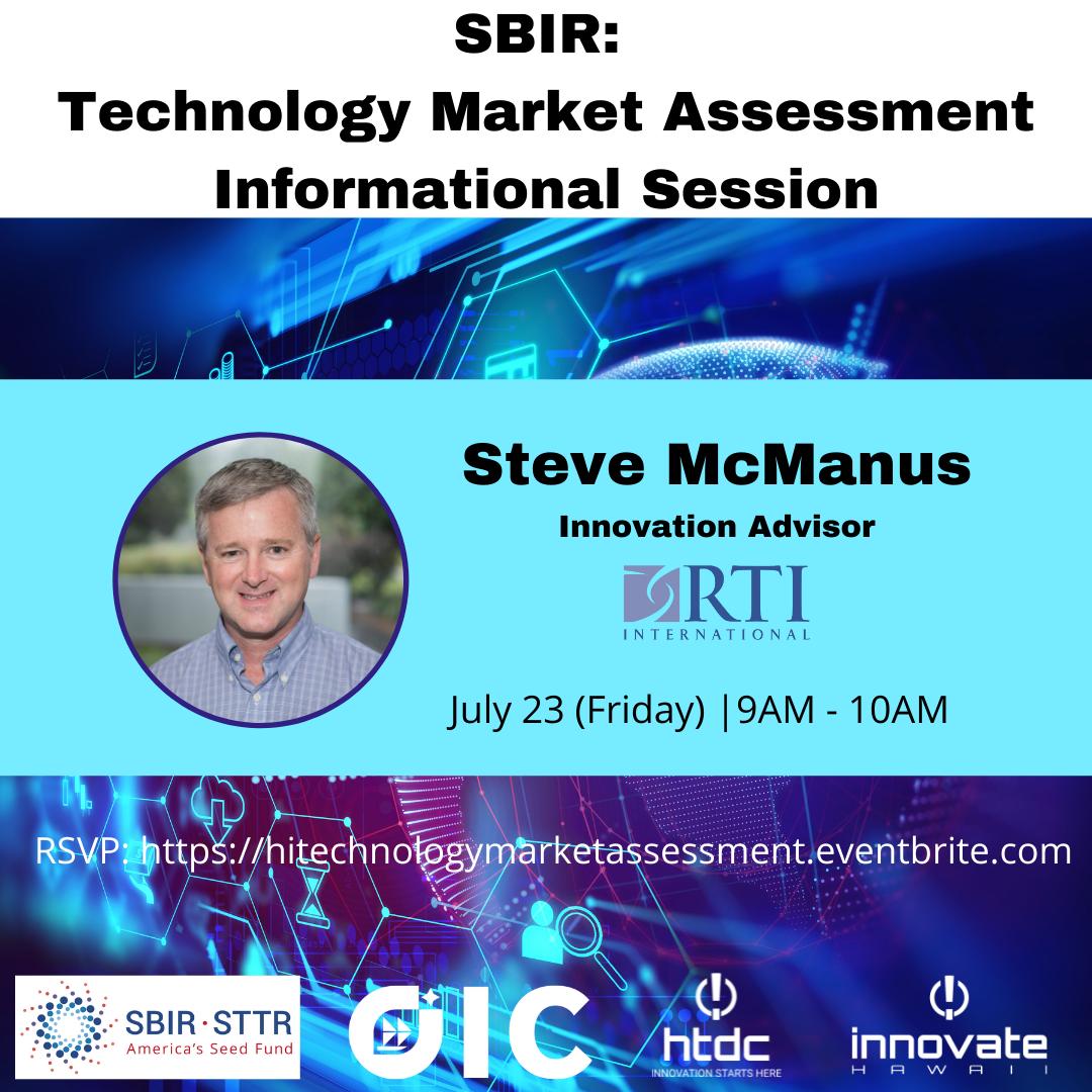 SBIR Technology Market Assessment Webinar