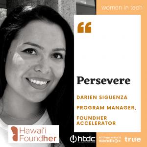 Women in Tech Darien Siguenza