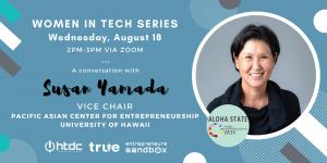 Women in Tech Susan Yamada
