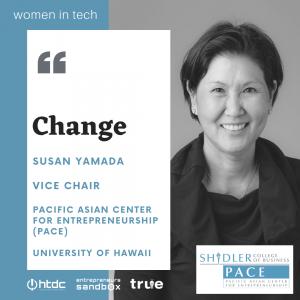 Susan Yamada Women in Tech