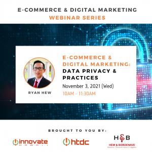 Ryan Hew E-Commerce Data Privacy Webinar